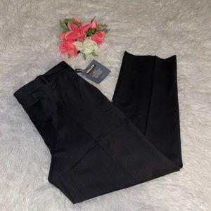 Kirkland men's black dress slacks pant 36x30 NWT